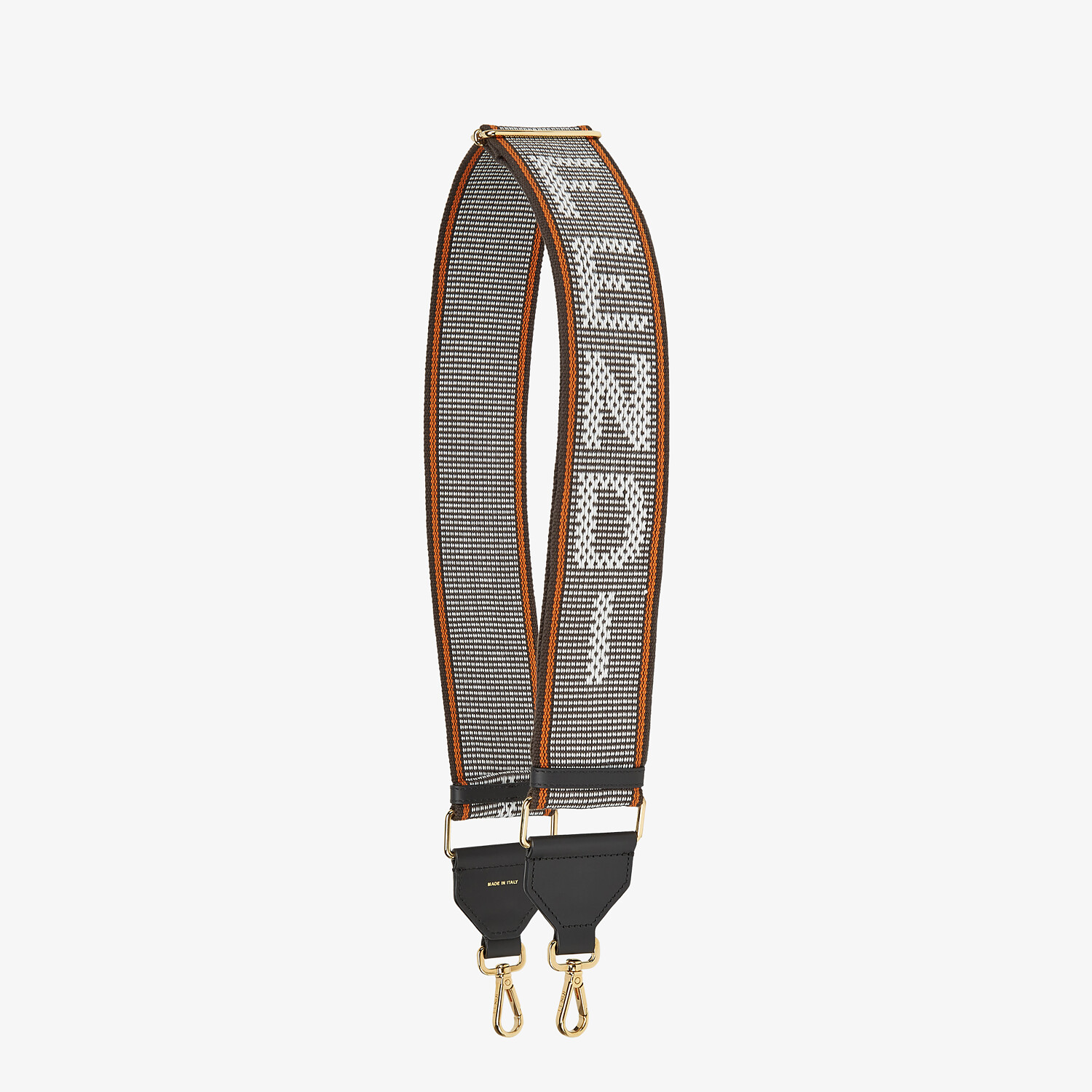 FENDI STRAP YOU - White ribbon shoulder strap - view 1 detail