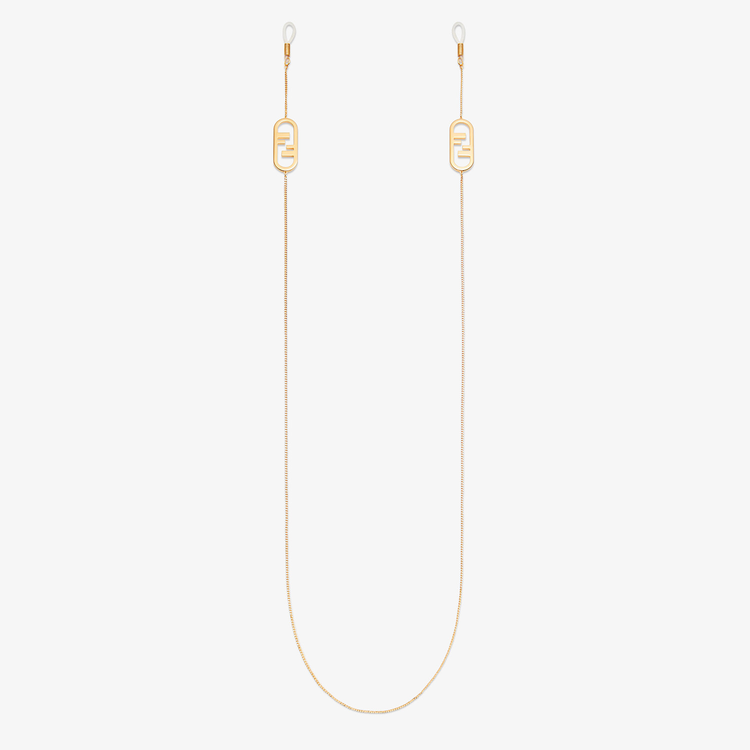FENDI O'LOCK CHAIN - Gold-coloured necklace - view 1 detail