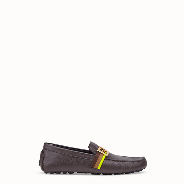 FENDI LOAFER - Loafer aus Leder in Schwarz - view 1 small thumbnail
