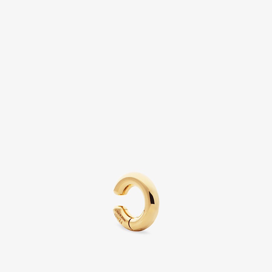 FENDI KARLIGRAPHY EARRING - Gold-color earring - view 2 detail