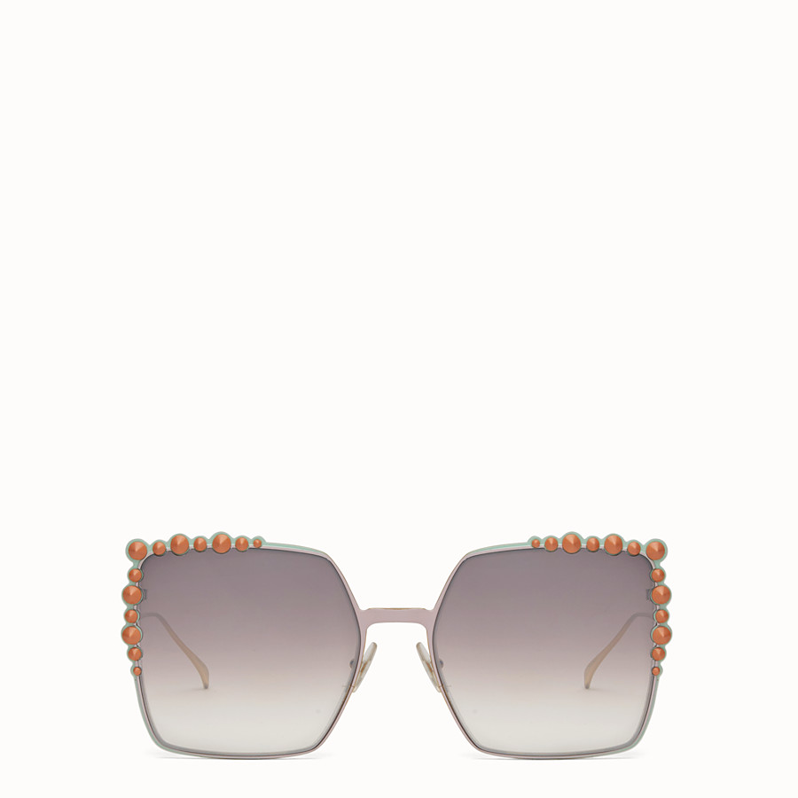 FENDI CAN EYE - Two-tone SS17 Runway sunglasses - view 1 detail