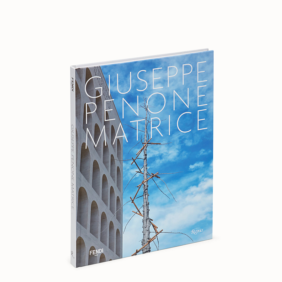 FENDI GIUSEPPE PENONE: MATRICE - Hardcover book in Italian. - view 1 detail