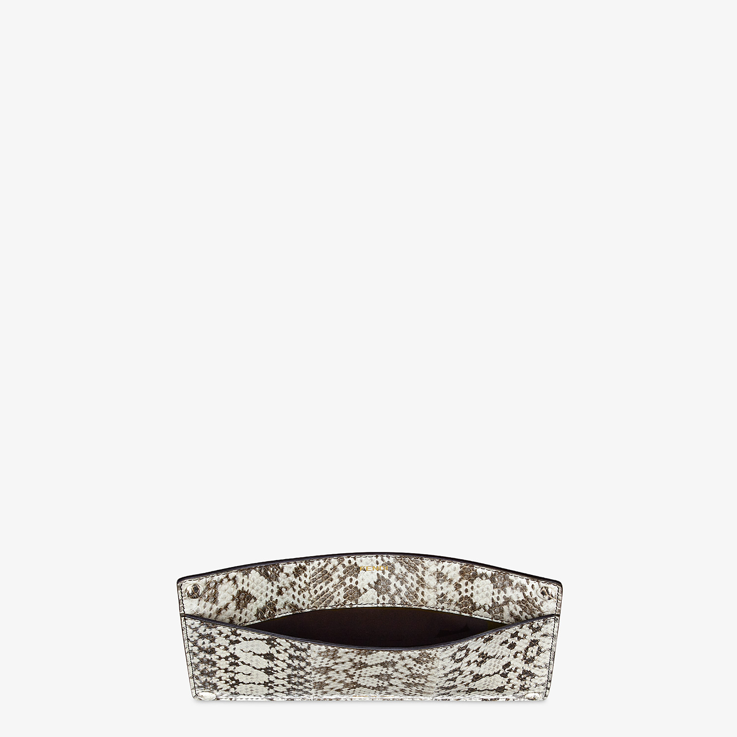 FENDI PEEKABOO ISEEU POCKET - Accessory pocket in natural elaphe - view 3 detail