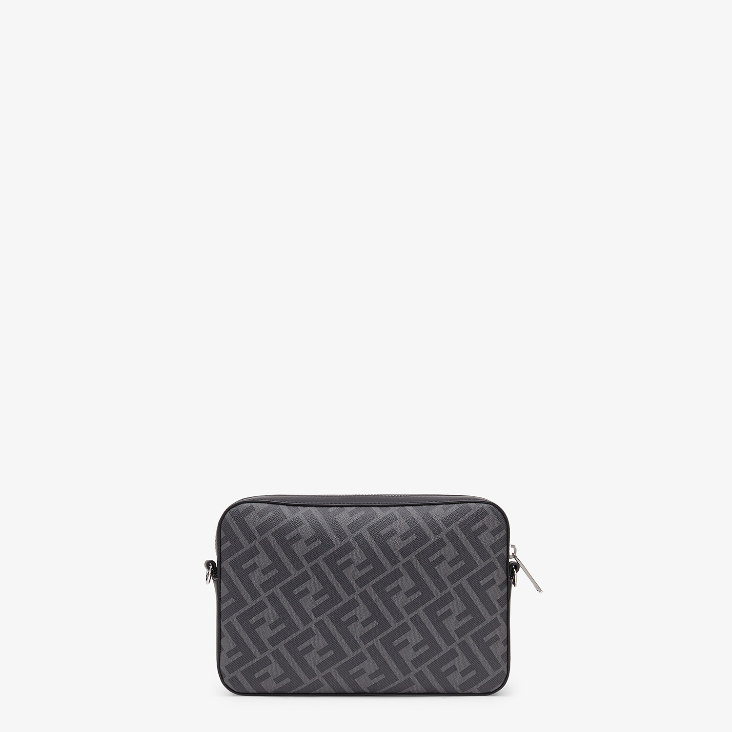 FENDI CAMERA CASE - Gray fabric bag - view 3 detail