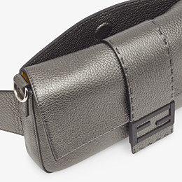 FENDI BAGUETTE - Grey leather bag - view 6 thumbnail