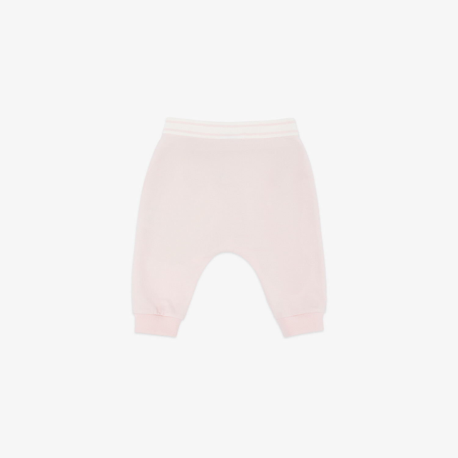 FENDI BABY TROUSERS - Pink jersey baby trousers - view 2 detail