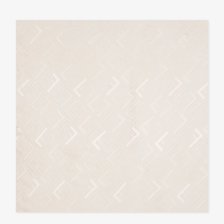 FENDI STOLA SIGNATURE - Stola in seta rosa - vista 1 dettaglio