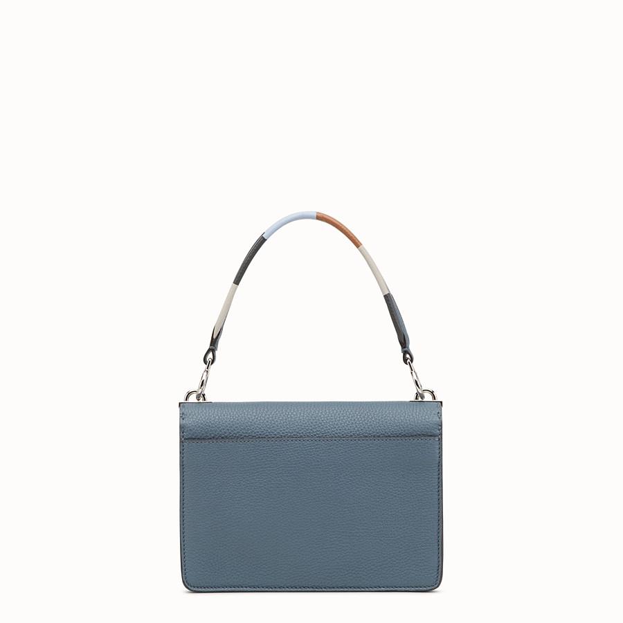 FENDI 信差包 - 藍色皮革手袋 - view 3 detail