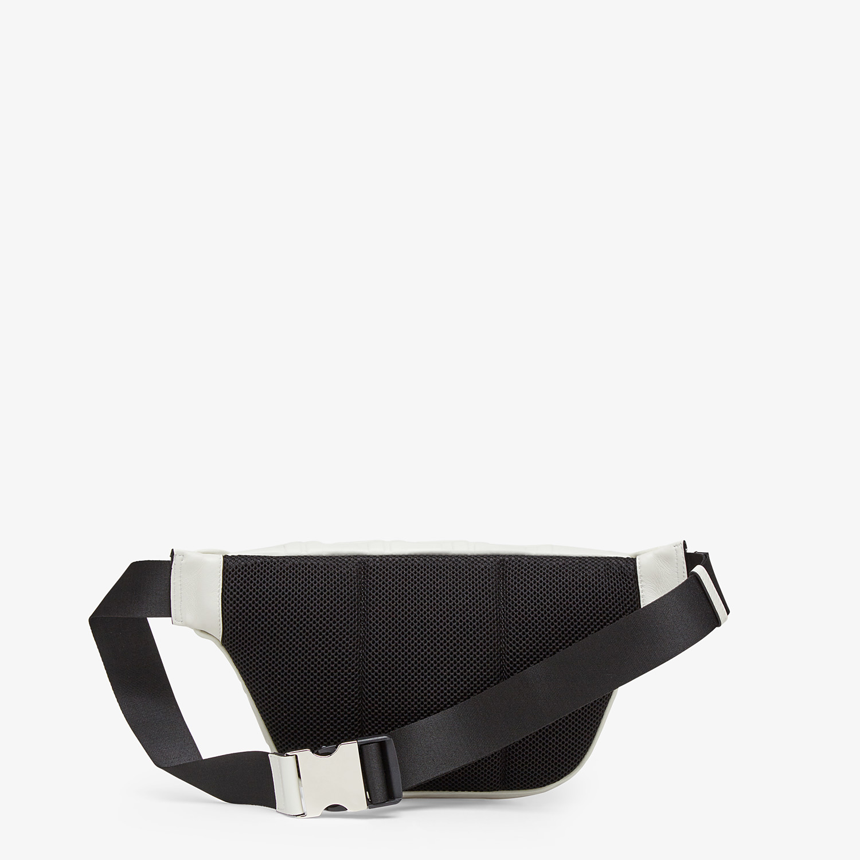 FENDI BELT BAG - White nappa leather belt bag - view 3 detail