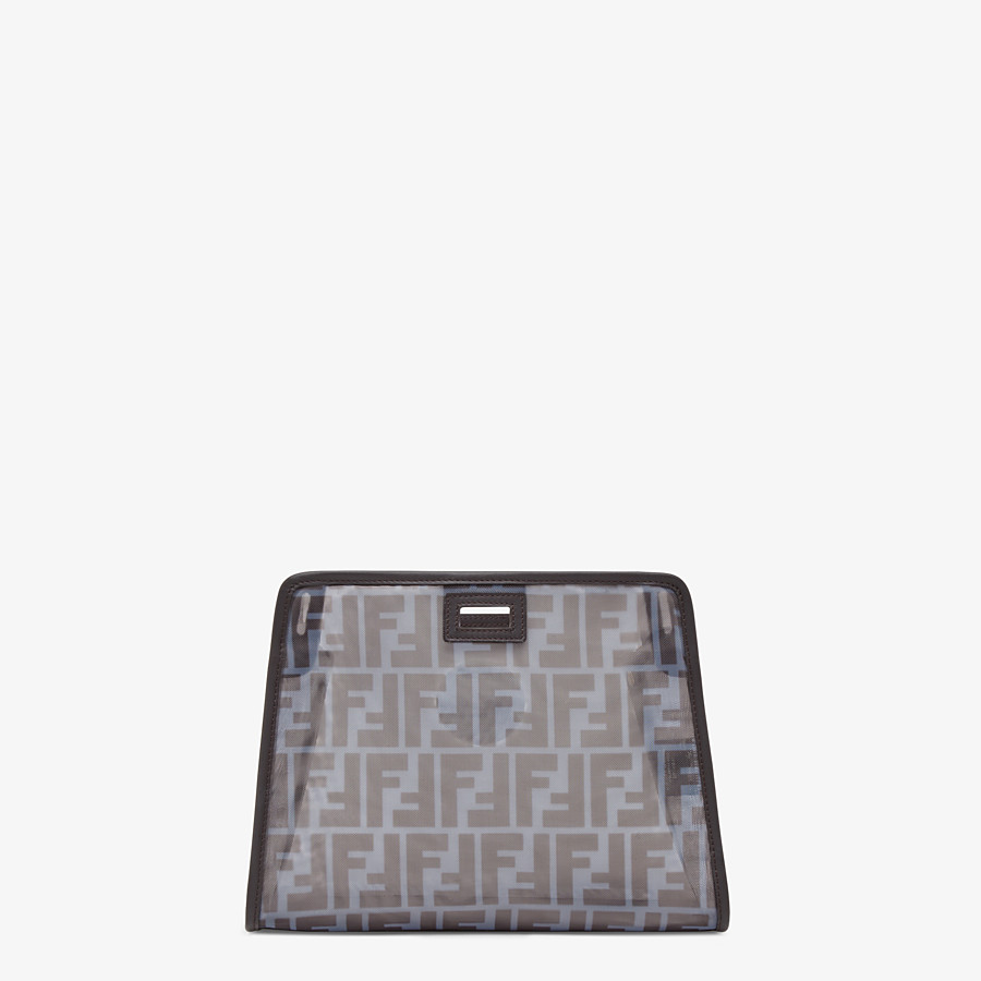FENDI SMALL PEEKABOO DEFENDER - Light blue mesh Peekaboo cover - view 3 detail