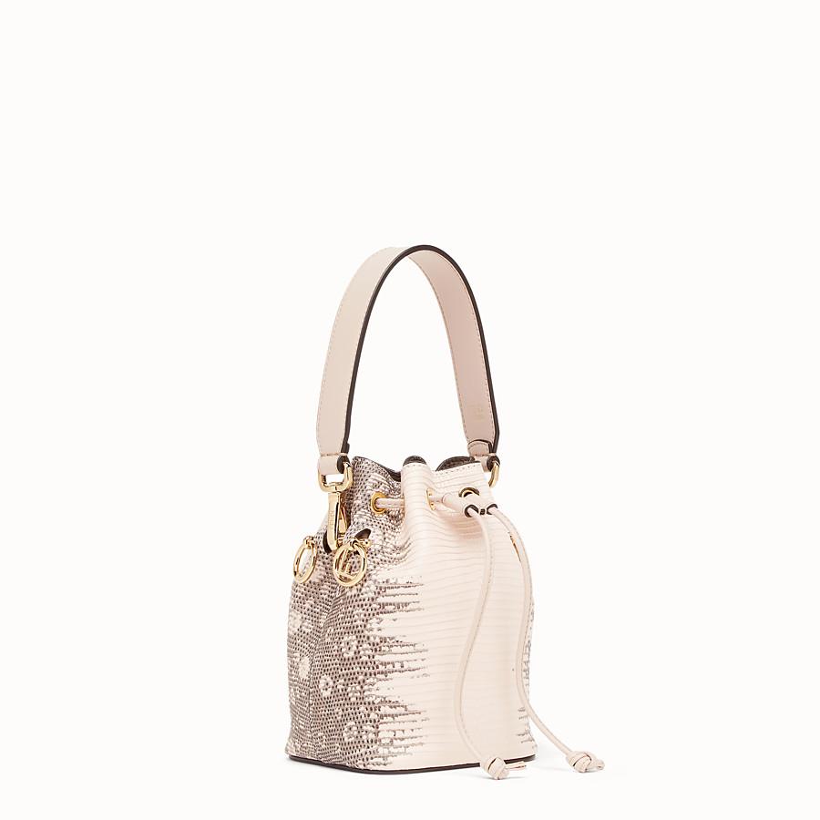 FENDI MON TRESOR - Pink leather mini-bag - view 2 detail