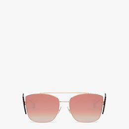FENDI FFREEDOM - Gafas de sol doradas - view 1 thumbnail