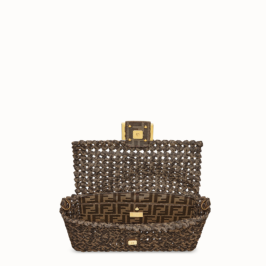 FENDI BAGUETTE - FF jacquard interlace bag - view 5 detail