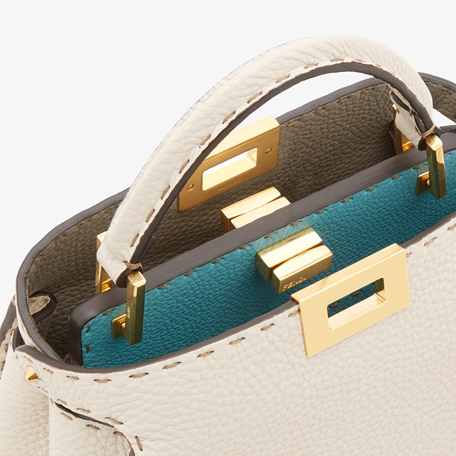 FENDI PEEKABOO ICONIC ESSENTIALLY - Fendi Roma Amor leather bag - view 6 detail