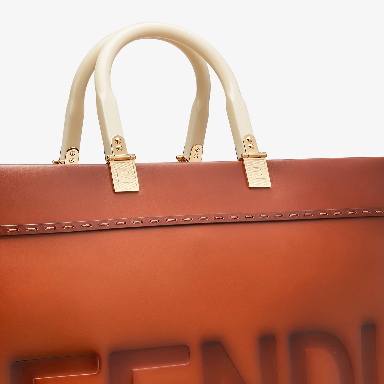 FENDI FENDI SUNSHINE LARGE - Natural leather shopper - view 6 detail