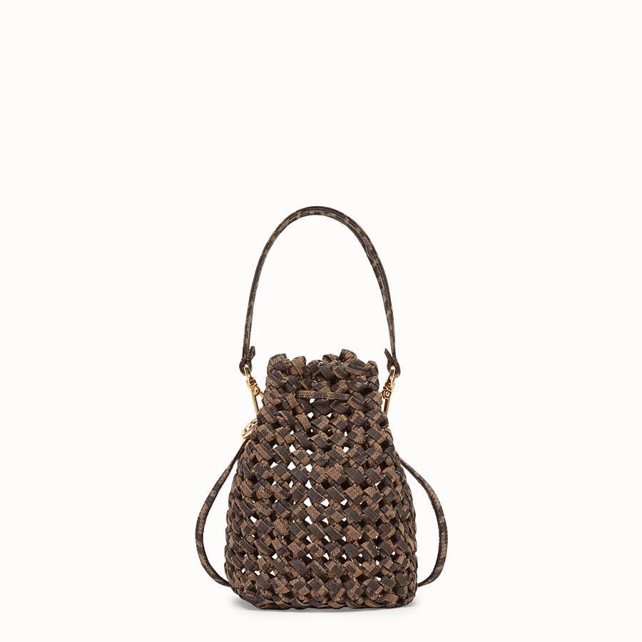 FENDI MON TRESOR - FF jacquard interlace mini-bag - view 4 detail
