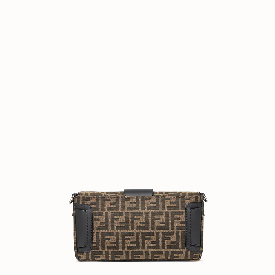 FENDI BAGUETTE - Brown fabric bag - view 4 detail