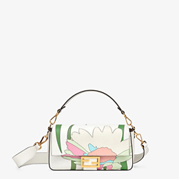 FENDI BAGUETTE - White leather bag - view 1 thumbnail