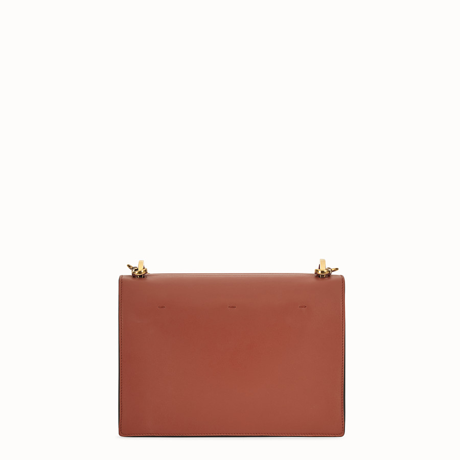 FENDI KAN U - Red leather bag - view 4 detail