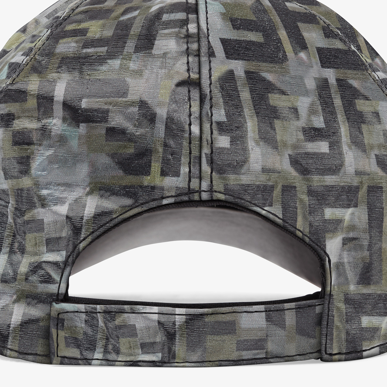 FENDI HAT - Multicolour nylon baseball cap - view 2 detail