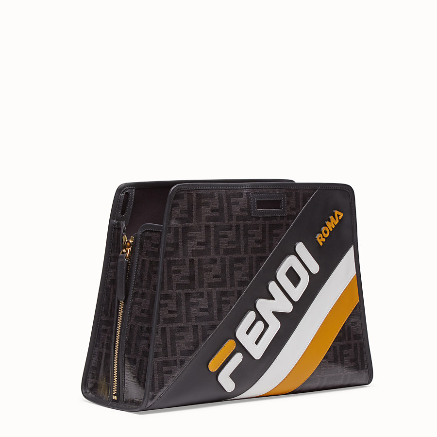 FENDI PEEKABOO DEFENDER - Glazed multicolor fabric cover - view 2 detail