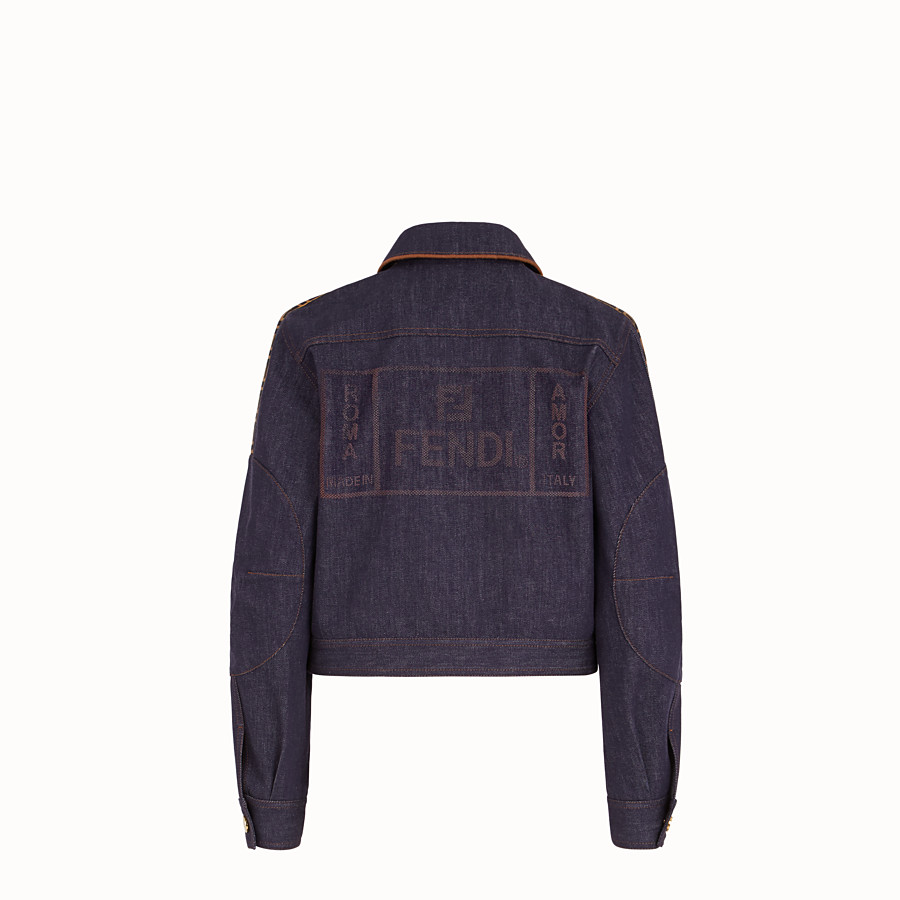 FENDI VESTE - Blouson Fendi Roma Amor en denim - view 2 detail