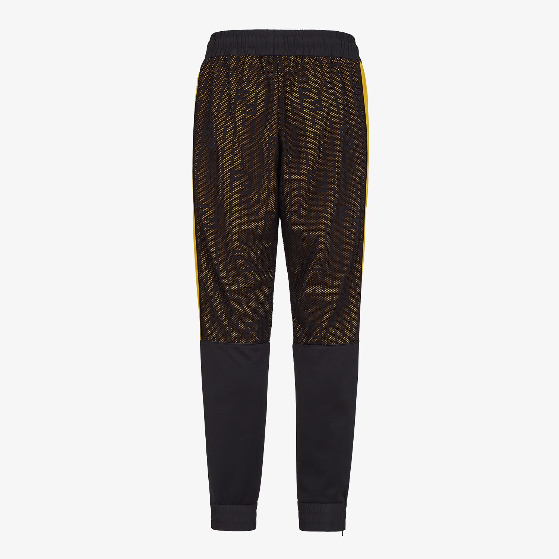 FENDI PANTS - Multicolor jersey pants - view 2 detail