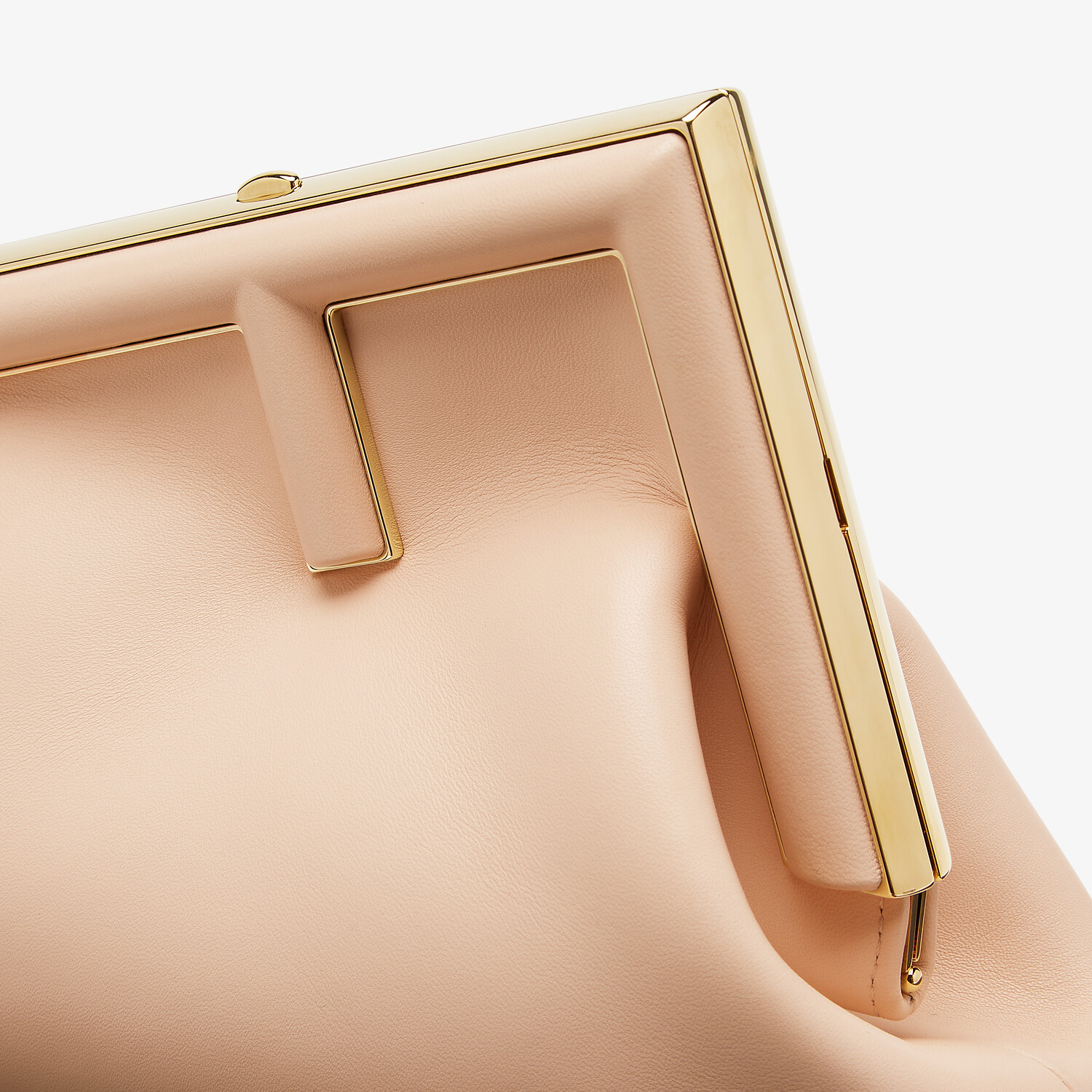 FENDI FENDI FIRST SMALL - Pink leather bag - view 5 detail