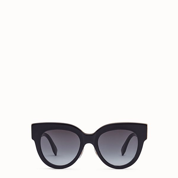 FENDI F IS FENDI - Black sunglasses - view 1 small thumbnail