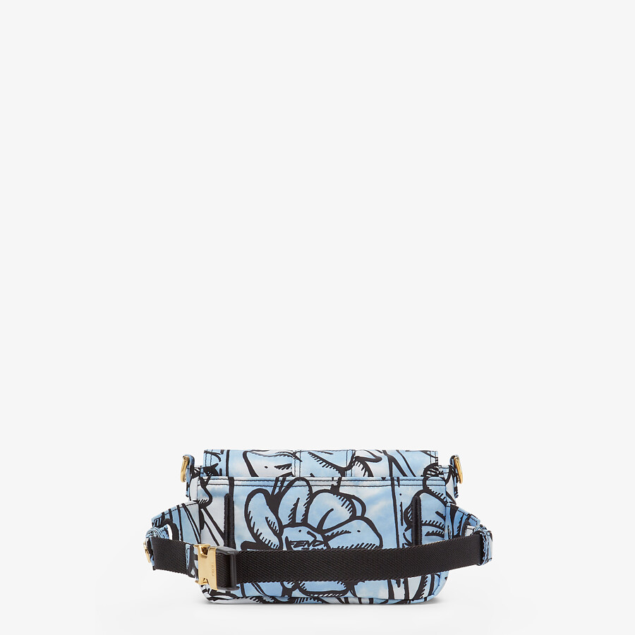 FENDI BAGUETTE - Fendi Roma Joshua Vides nylon bag - view 3 detail