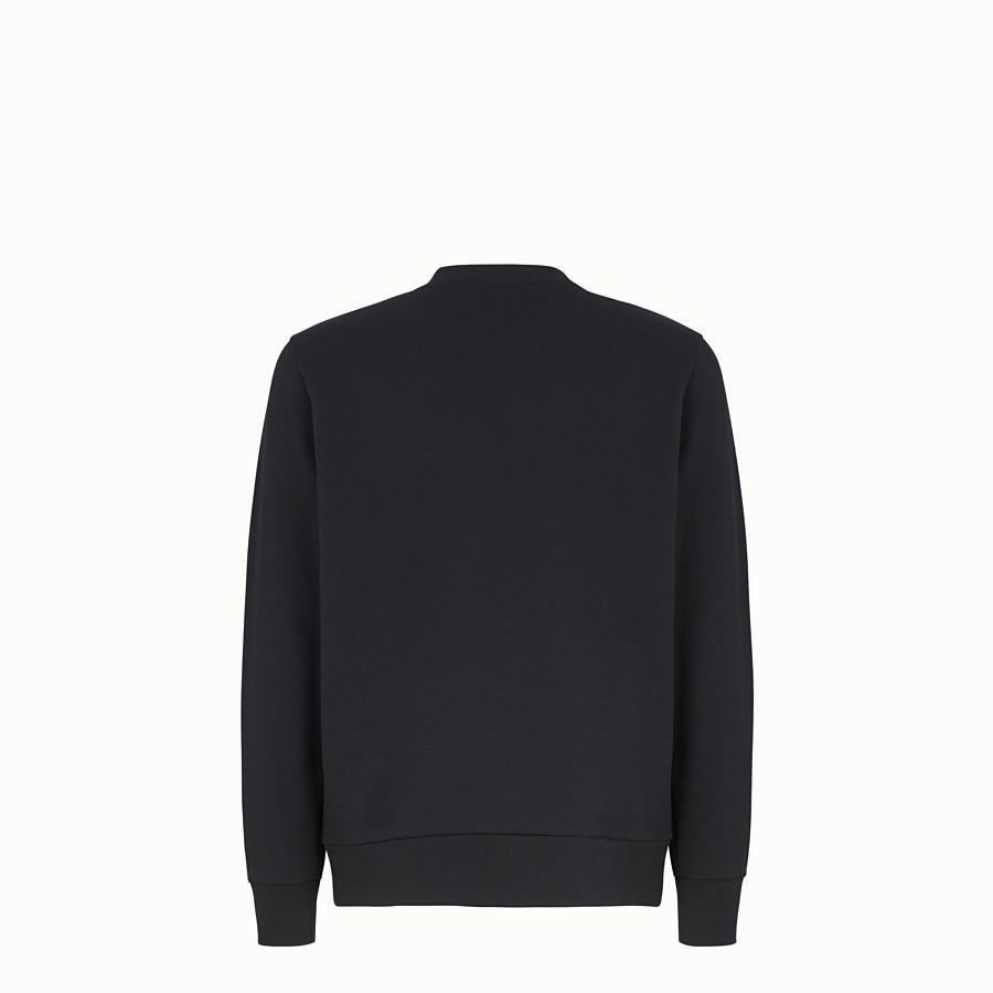 FENDI SWEATSHIRT - Sweatshirt aus Jersey in Schwarz - view 2 detail