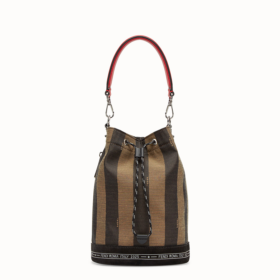 FENDI MON TRESOR - Small multicolour canvas bag - view 1 detail