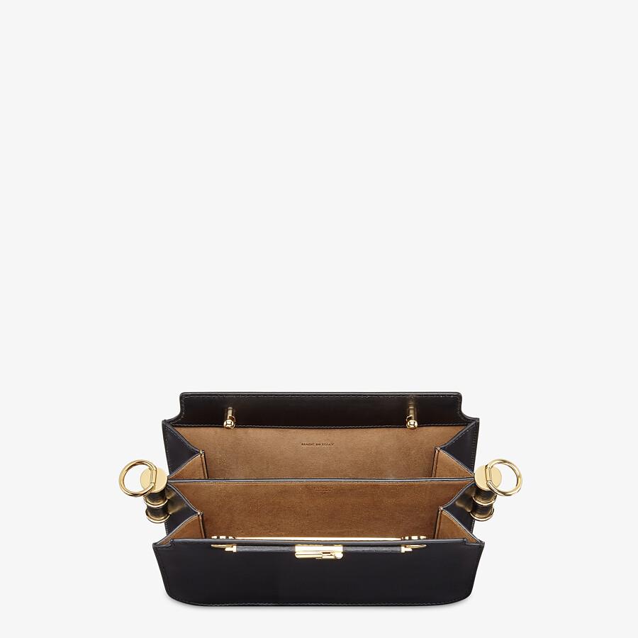 FENDI FENDI TOUCH - Black leather bag - view 5 detail
