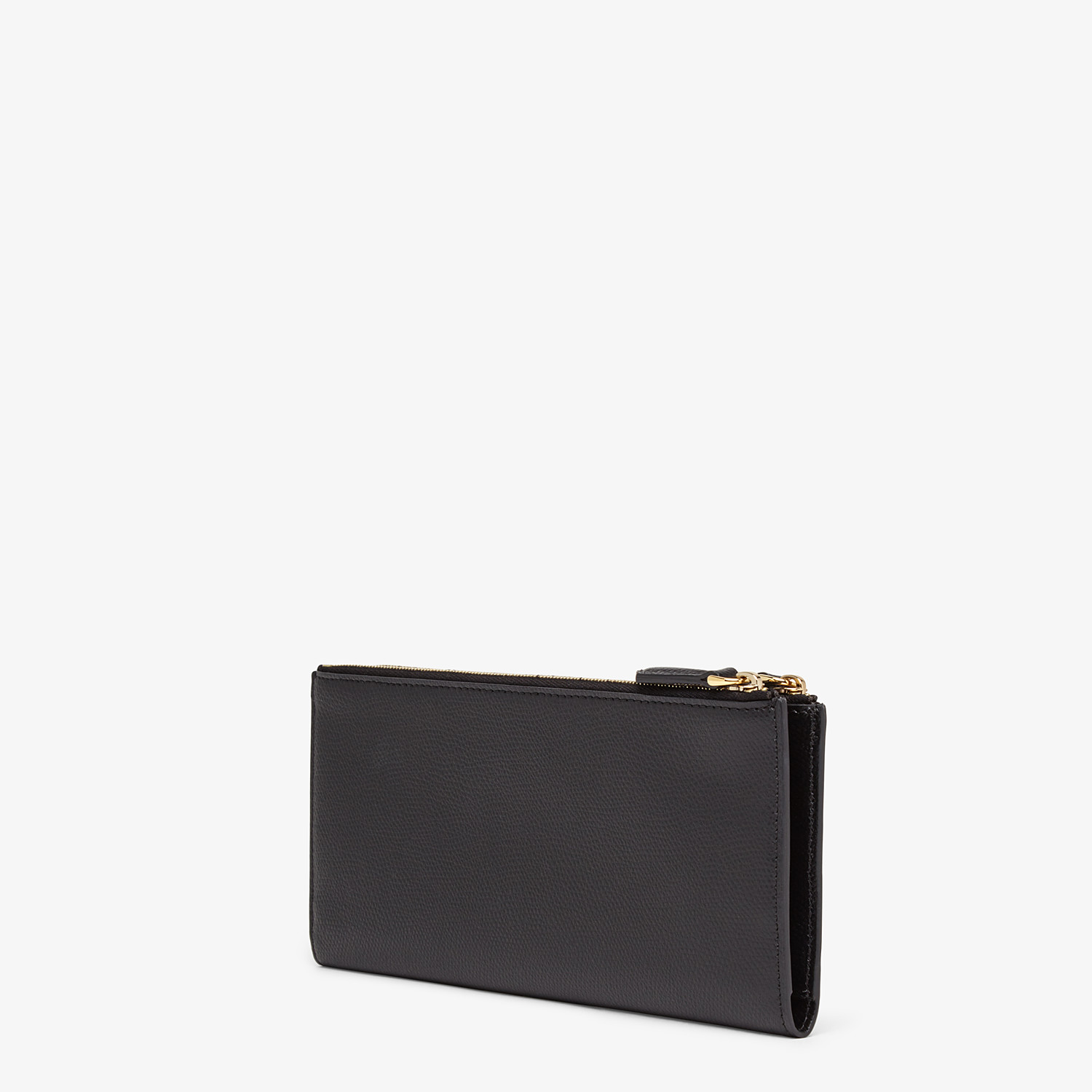 FENDI BIFOLD - Black leather wallet - view 2 detail
