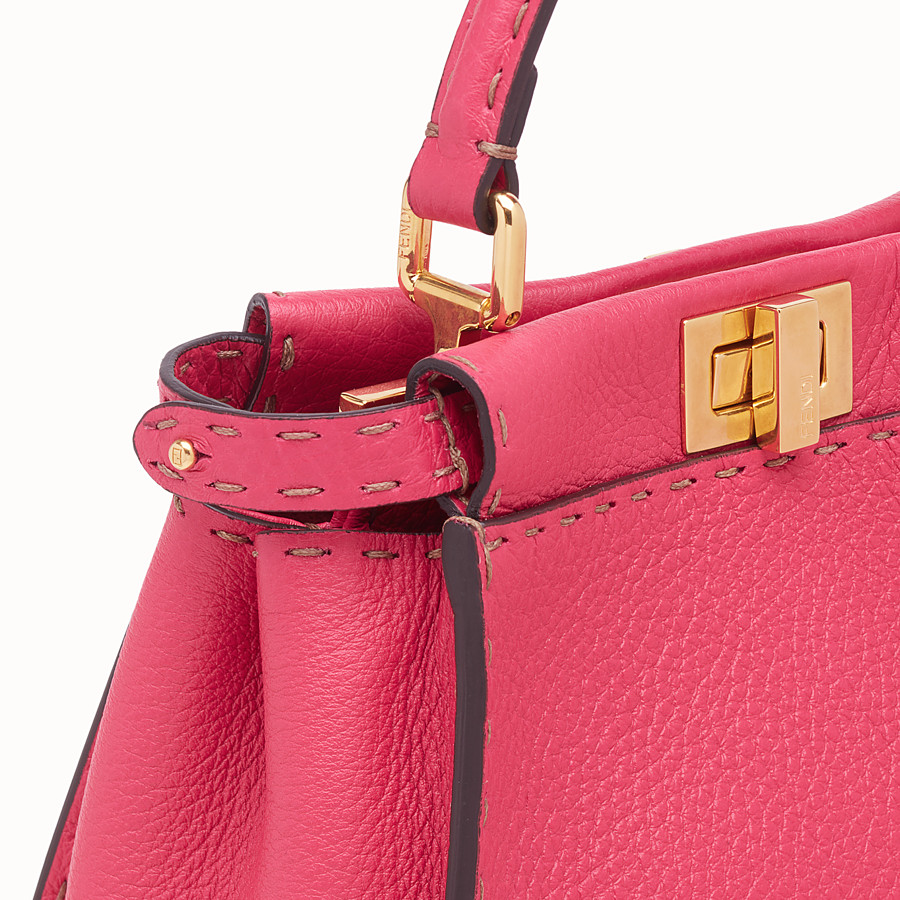 FENDI PEEKABOO MINI - Fendi Roma Amor leather bag - view 6 detail
