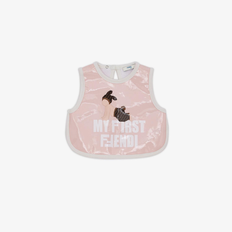 FENDI BAVAGLINO - Bavaglino in tessuto rosa - vista 1 dettaglio