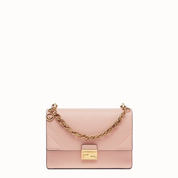 FENDI KAN U - Pink leather bag - view 1 small thumbnail