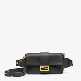 FENDI BAGUETTE - Black leather bag - view 1 thumbnail