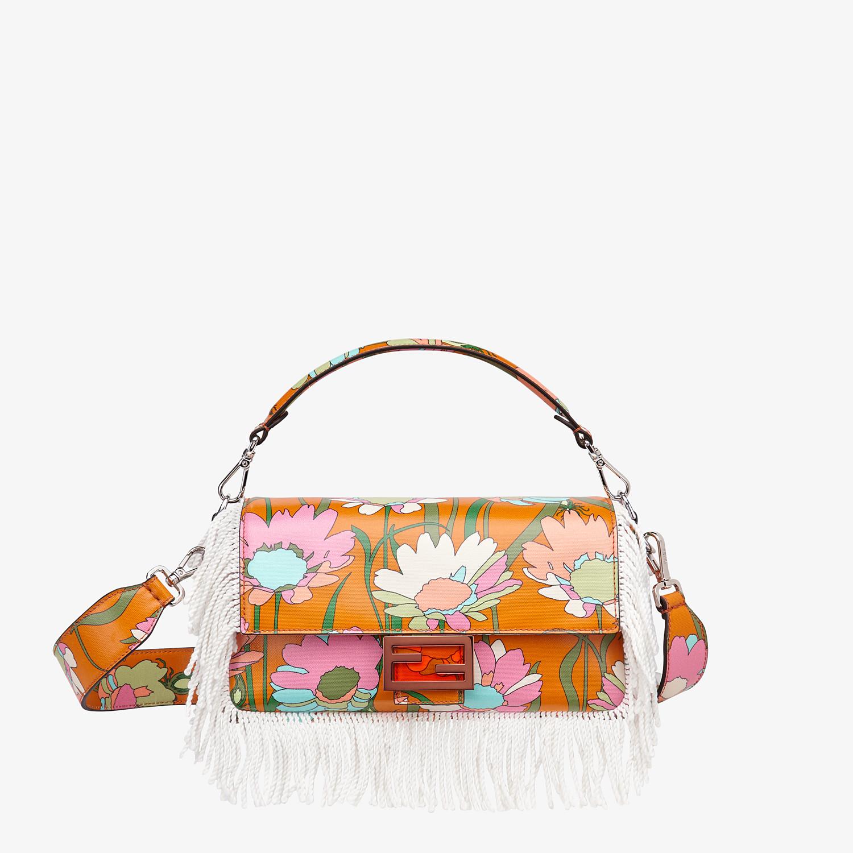 FENDI BAGUETTE - Multicolour fabric bag - view 1 detail