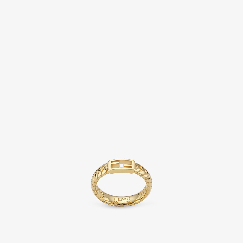 FENDI BAGUETTE RING - Gold-color ring - view 1 detail