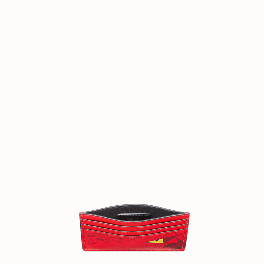 FENDI CARD HOLDER - Cardholder from the Chinese New Year Limited Capsule Collection - view 3 detail