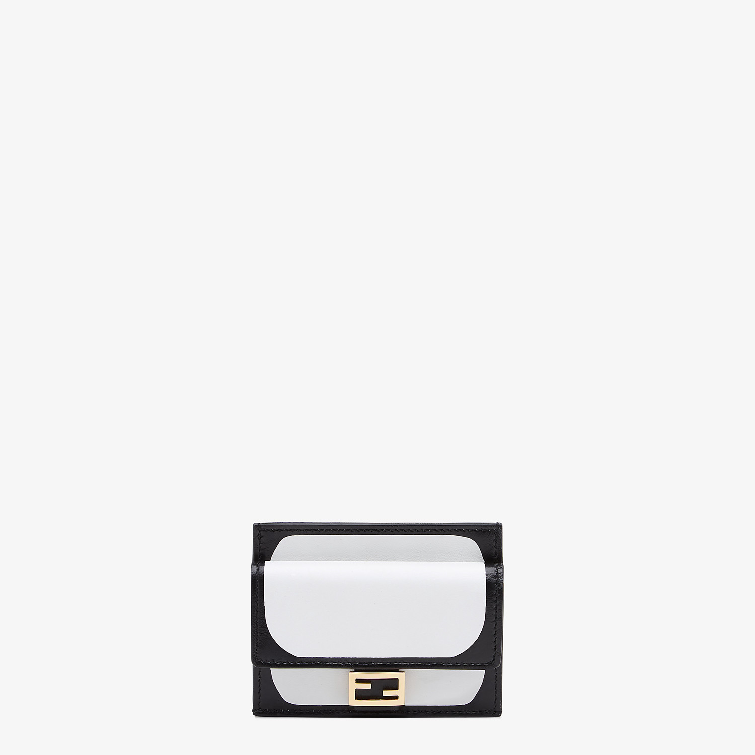 FENDI CARD HOLDER - White nappa leather card holder - view 1 detail