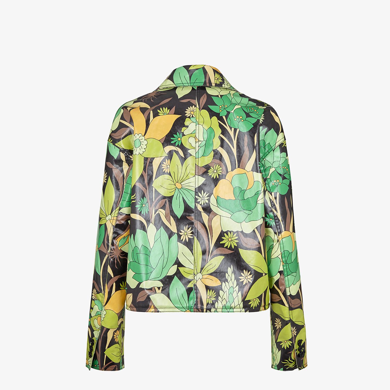FENDI JACKET - Multicolour cotton jacket - view 2 detail