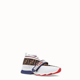 FENDI SNEAKER - Sneaker aus Stoff in Weiß - view 2 thumbnail