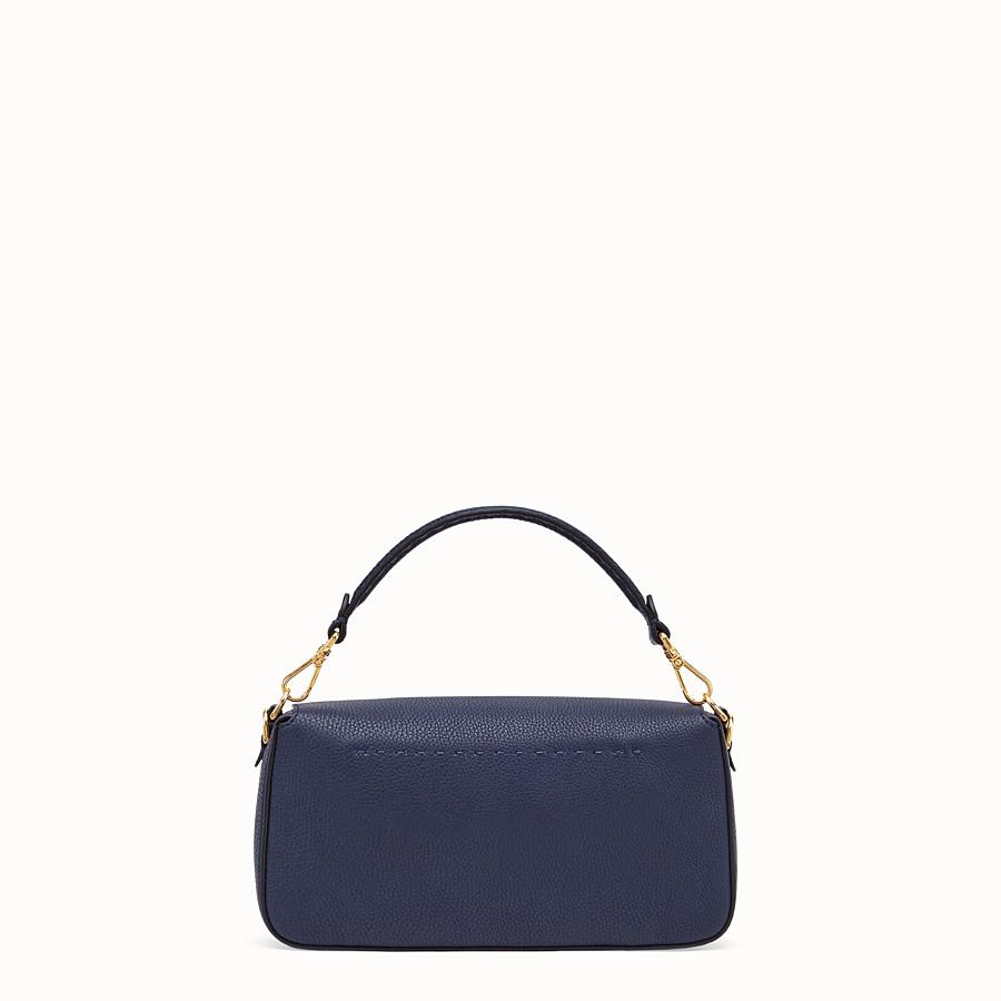 FENDI BAGUETTE - Blue leather bag - view 4 detail