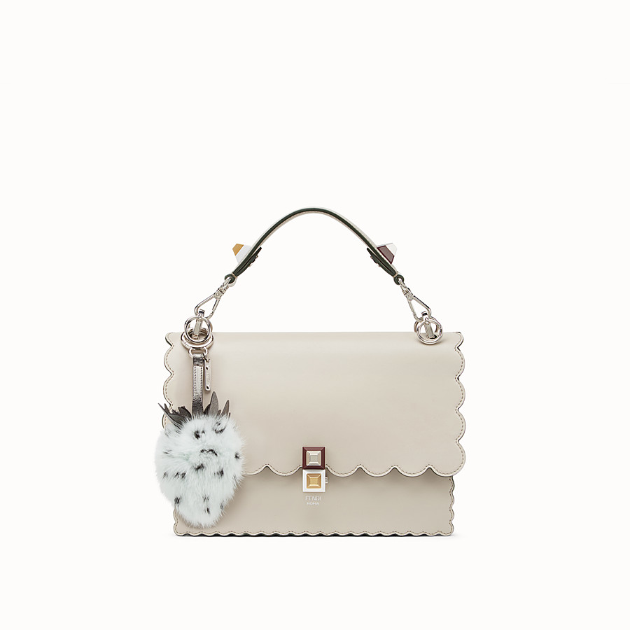FENDI FENDI FRUITS CHARM - Pale blue fur charm - view 3 detail