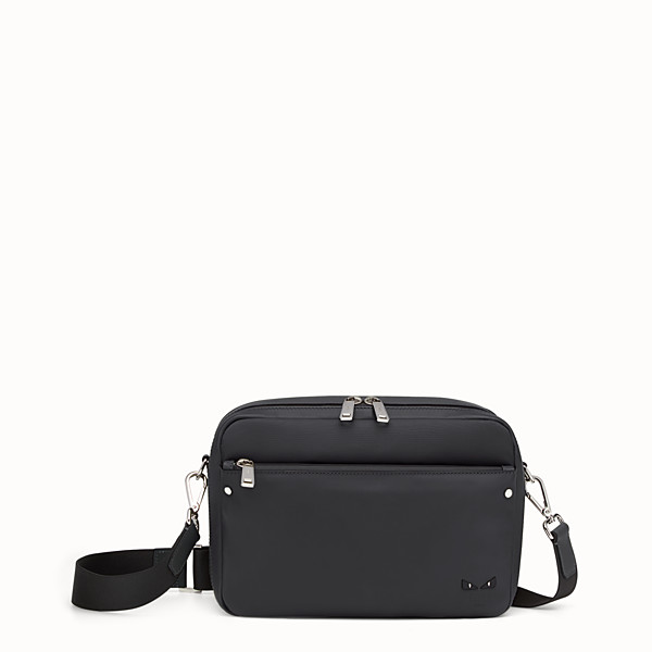 FENDI MESSENGER - Black nylon and leather bag - view 1 small thumbnail