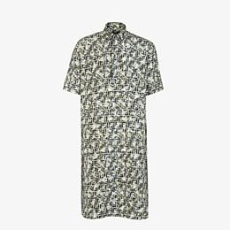 FENDI SHIRT - Multicolour silk shirt - view 1 thumbnail