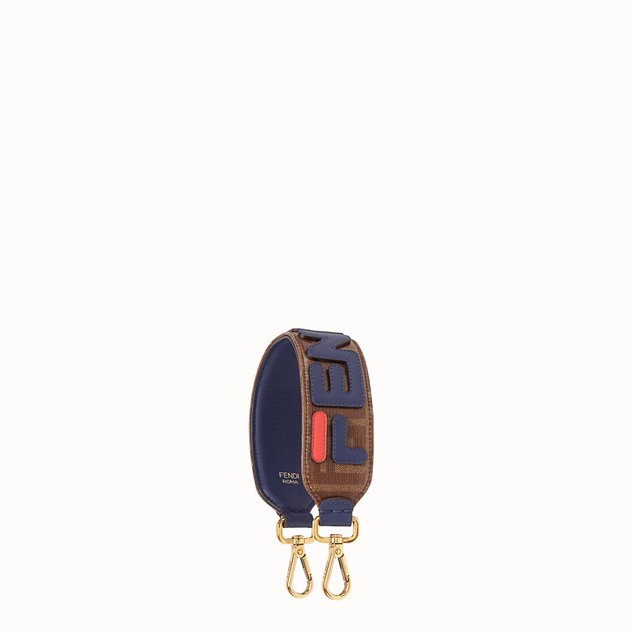 FENDI MINI STRAP YOU - Fabric shoulder strap - view 1 detail