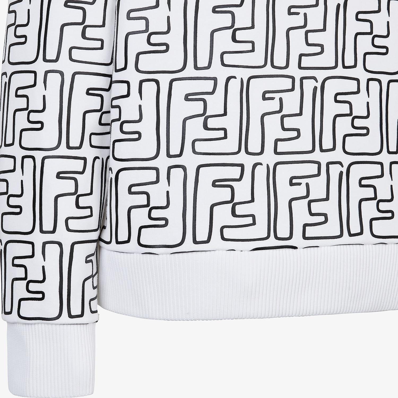 FENDI SWEATSHIRT - Fendi Roma Joshua Vides jersey sweatshirt - view 3 detail